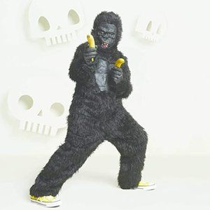 Boys Full Gorilla Suit Costume w Mask & Hands XL16